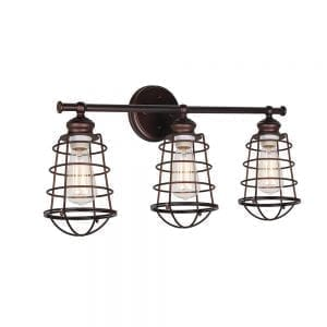 Design House Ajax 3 Light Vanity Light- Bronze